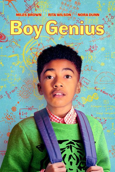 Boy Genius Movie Poster